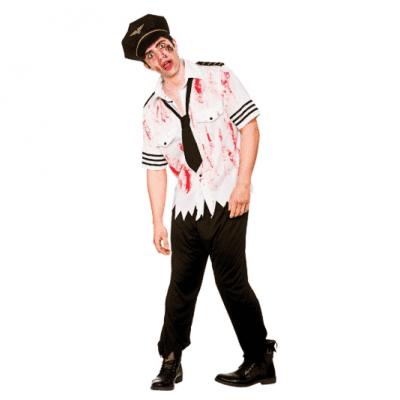 Foto van Zombie piloten kostuum