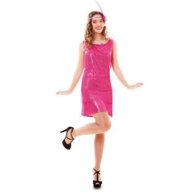 Foto van Jaren 20 jurkje roze