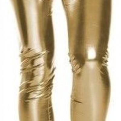 Legging lamee goud