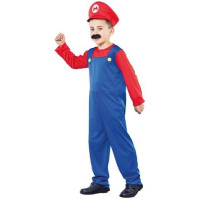 Foto van Mario kostuum peuter