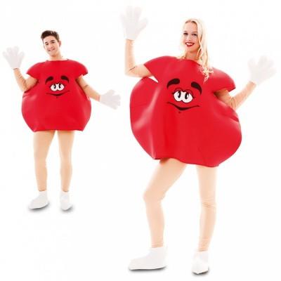 M&M pak rood volwassen maat