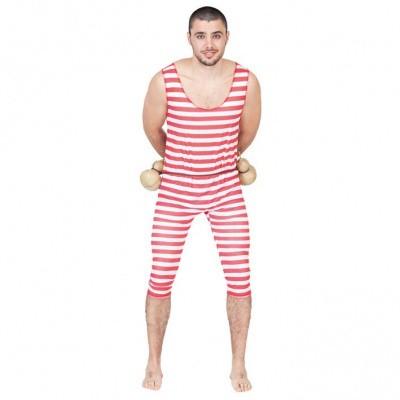 Foto van Sterke man circus kostuum