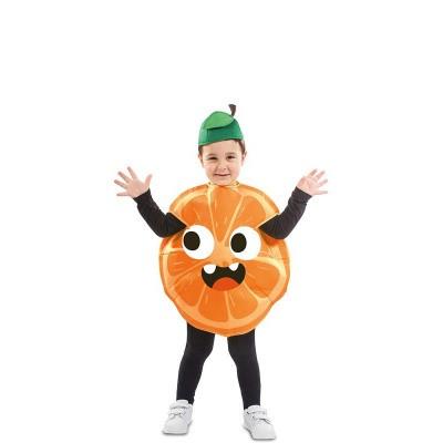Foto van Sinaasappel kostuum peuter