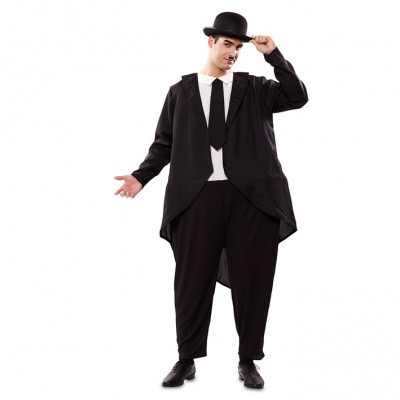 Foto van Oliver Hardy kostuum (dikke)