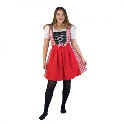 Foto van Dirndl jurkje rood