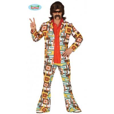 Foto van Jaren 70 hippie kostuum