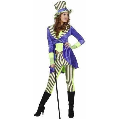 Foto van Joker kostuum dames - Luxe