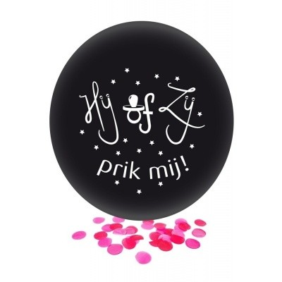 Ballon gender reveal ZIJ
