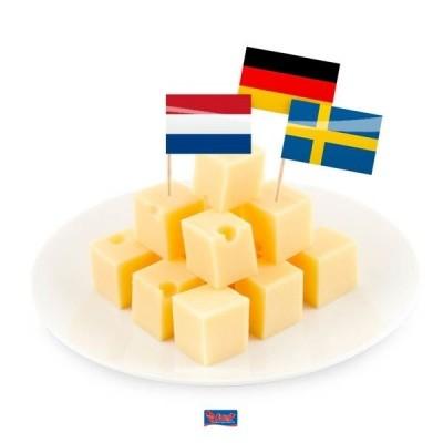 Vlagprikker Europa 50st