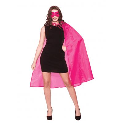 Foto van Cape superheld roze