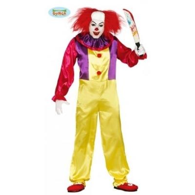Foto van Scary prank clown kostuum