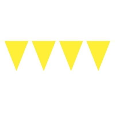 Mini Vlaggenlijn Geel /3mtr