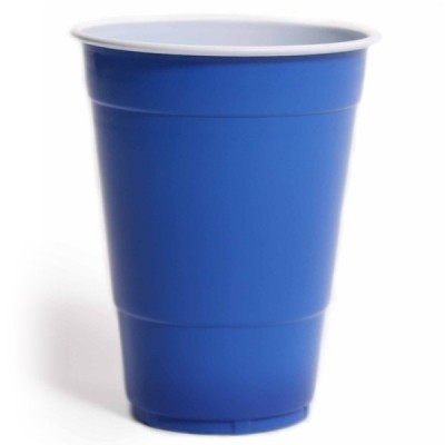 Foto van Blue cups 500 ml (25 st.)