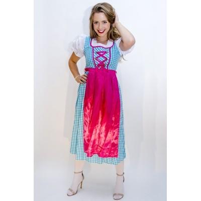 Tiroler jurk lang Annabel