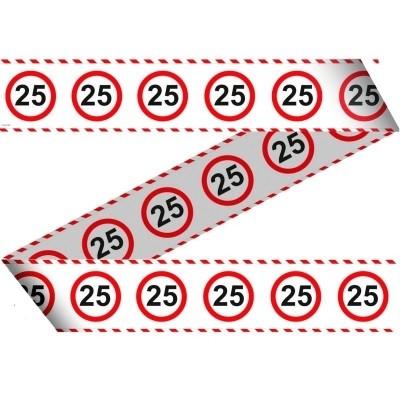 Markeerlint Verkeersbord 25 Jr 15m