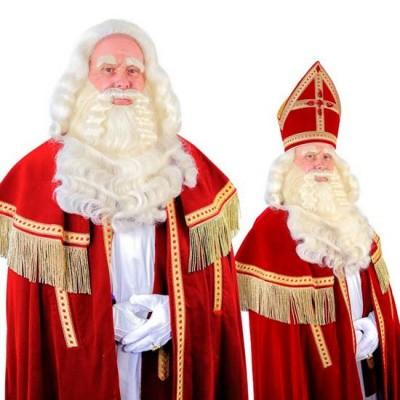 Foto van Sinterklaas baard TV-Sint buffel (Yak) tule 34.105