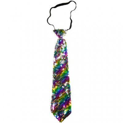 Foto van Regenboog stropdas