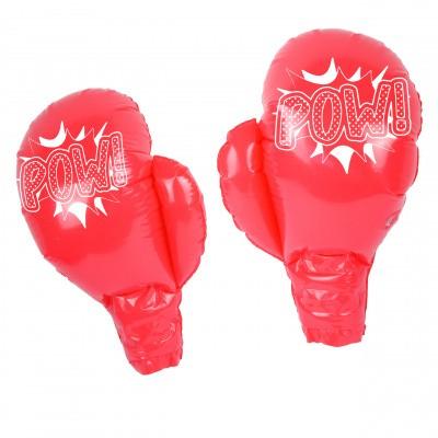 Foto van Opblaasbare bokshandschoenen