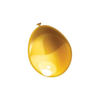 Foto van Ballonnen Metallic Goud 10st
