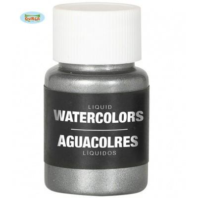 Foto van Body paint op waterbasis - zilver