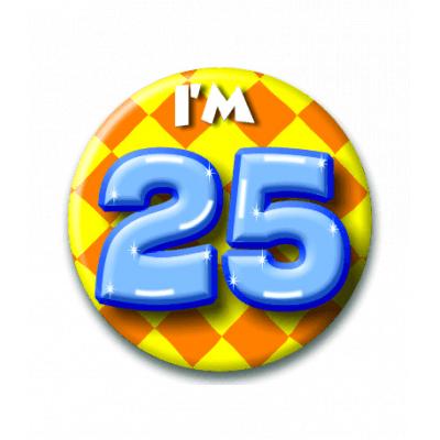 Foto van Button 25 jaar