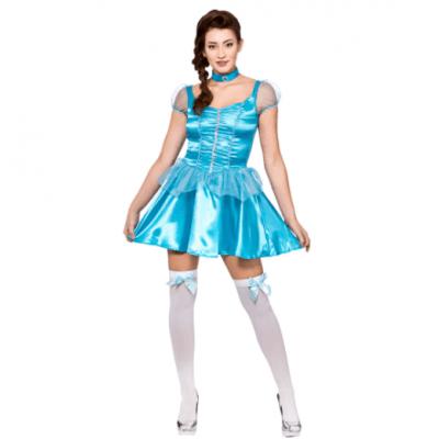Prinses Frozen jurk kort