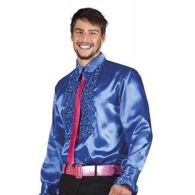 Foto van Disco blouse blauw