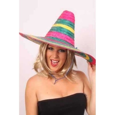 Sombrero mexico multi (one size)