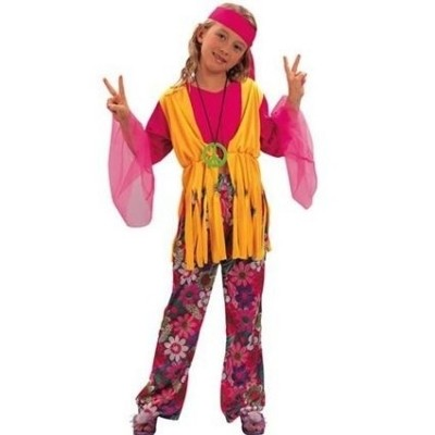 Foto van Hippie meisje kostuum