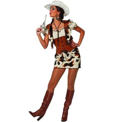 Cowgirl kostuum - Luxe