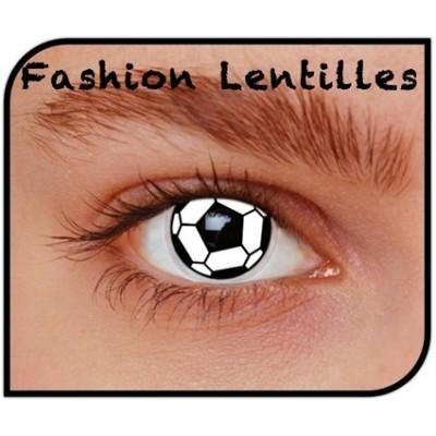 Foto van Kleurlenzen Soccer maandlenzen