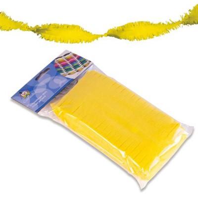 Foto van Crepe slinger geel 6m