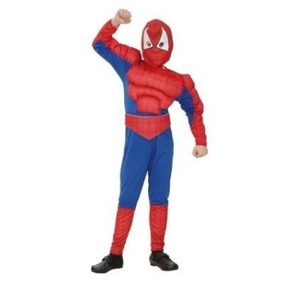 Spiderman gespierd kind