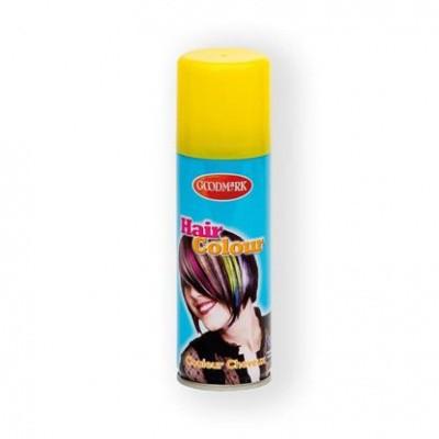 Foto van Haarspray kleur 125ml geel (goodmark)