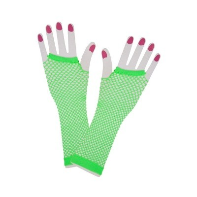 Foto van Net handschoenen neon groen
