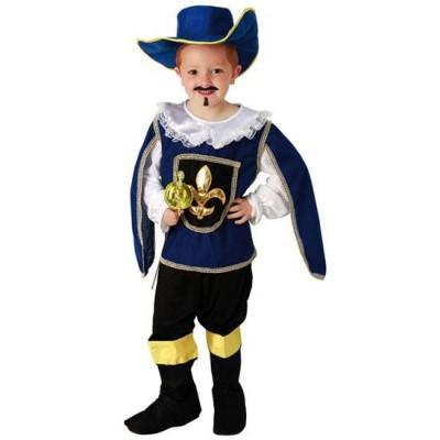 Foto van Musketier kostuum kind