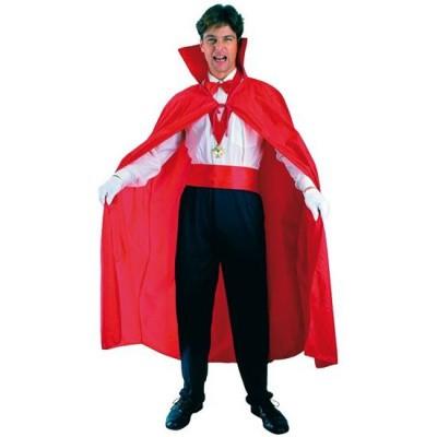 Foto van Rode cape met kraag