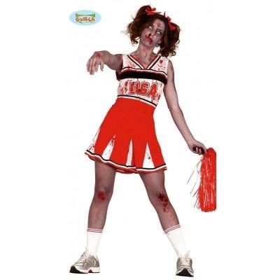 Foto van Cheerleader kostuum USA Halloween