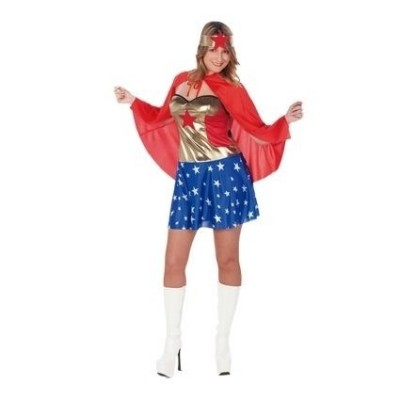 Foto van Wonder woman kostuum