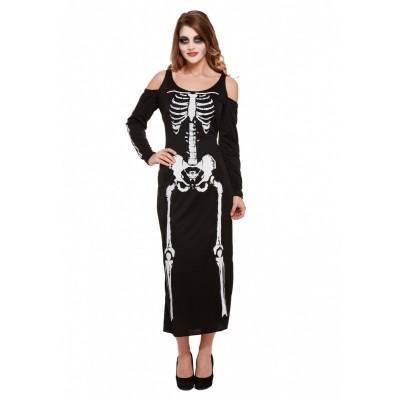 Foto van Skeletten jurk lang