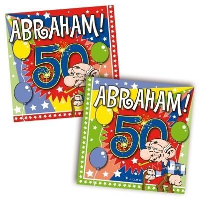 Servet Abraham Explosion 25x25/stk