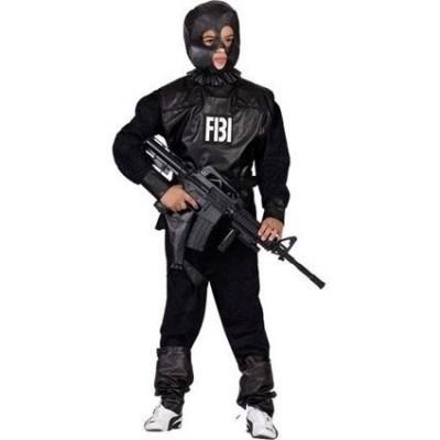 Foto van FBI kostuum kind