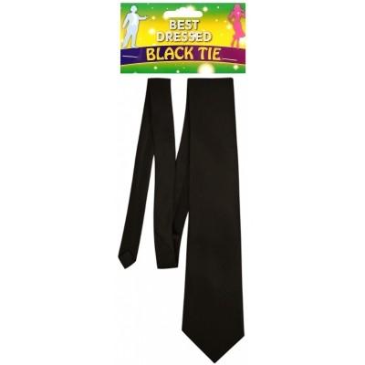Foto van Zwarte stropdas