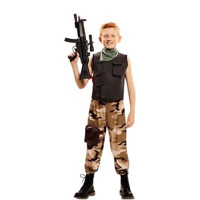 Foto van Fortnite kostuum kind - Soldaat