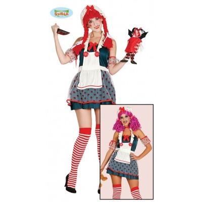 Foto van Halloween pop kostuum