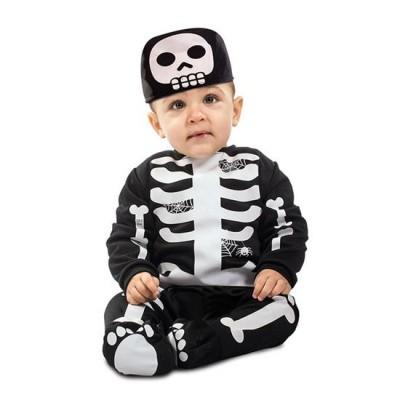 Foto van Skelet kostuum baby