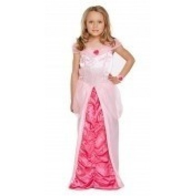 Prinsessenjurk prinses peach kind