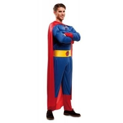 Foto van Superman pak gespierde torso