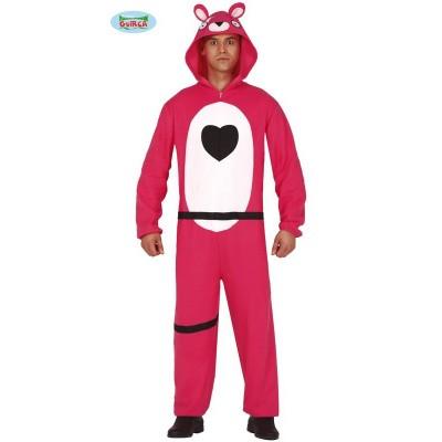 Foto van Fortnite kostuum - Roze beer