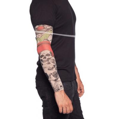 Foto van Tattoo Sleeve Doodshoofden